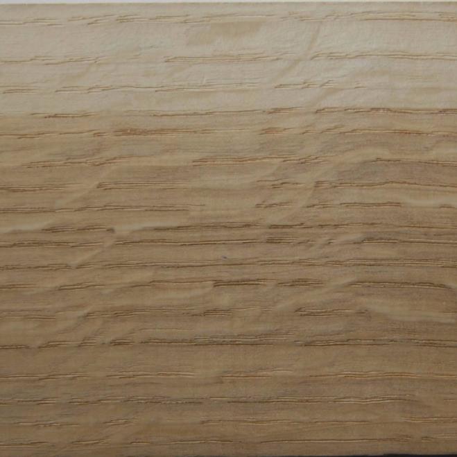 drewno z przymrużeniem oka - dąb przekrój styczno-promieniowy błyszcz