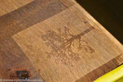 utrwalanie kalitypii na drewnie
